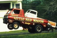 Vintage Drag Racing - Wheelstanders - Little Red Wagon