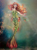 Mermaid (and her alter ego fish)-MartaNael fan art by SelectYourself