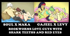 Bookworms love guys with shark teeth and red eyes, so Matsuoka Rin is included xDD