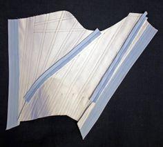Rococo Atelier: Speedy 18th century stays - tutorial - part 2