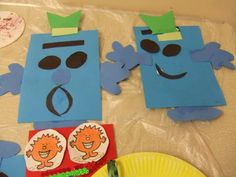 mr men craft for party