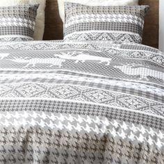 Winters bed-tafeleeltje   Cinderella Visby flanel dekbedovertrek
