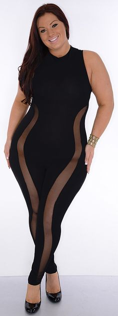 linger on (plus/black)-great glam is the web's best sexy plus size