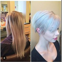 short blonde pixie cut for fine thin hair