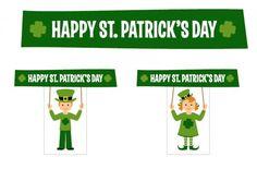 free st patricks day party printables 2