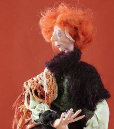 Doll Babette by puppenmagie on Etsy