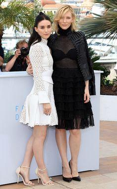 Rooney Mara & Cate Blanchett 2015