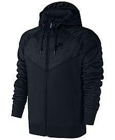 Nike Men's Air Hybrid Fleece Windrunner Hoodie