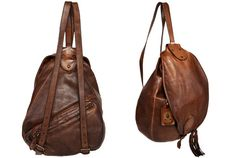 Trussardi Leather Backpack – The Daily Use