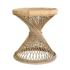 PEACOCK rattan side table by HK Living. Decoration and contemporary furniture in Paris. Silver Furniture, Entryway Furniture, Modular Furniture, Rattan Furniture, Rustic Furniture, Luxury Furniture, Bathroom Furniture, Modern Furniture, Rattan Chairs