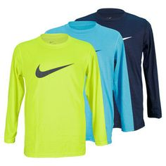 For a classic top with all the performance benefits you can get, you can't go wrong with the Nike Boys' Legend Long Sleeve Training Top. Dri-FIT fabric technology works to keep sweat off the body, while the lightweight knit prevents you from getting overheated. #nike #tennis #endlesstennis