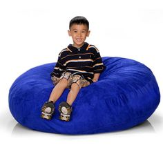 4ft Jaxx Cocoon Jr  Bean Bag Chairs.