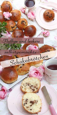 Fluffige, leckere und weiche Schokobrötchen wie vom Bäcker. Die Schokobrötchen haben einen subtilen, aber wahrnehmbaren Schokoladengeschmack, der perfekt ist, wenn Sie wie ich vier Mal hintereinander essen möchten. #Schokobrötchenrezept #rezept #fluffige #schnelle #weiche #schoki #megaweich #hausgemachte #hefeteig #sonntagsistkaffeezeit