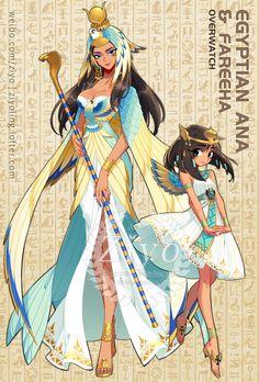 Anime Girl Cute, Kawaii Anime Girl, Anime Art Girl, Female Character Design, Character Design Inspiration, Character Art, Anime Elf, Chica Anime Manga, Anime Egyptian