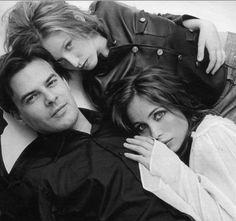 Francois Ozon, Ludivine Sagnier and Emmanuelle Béart