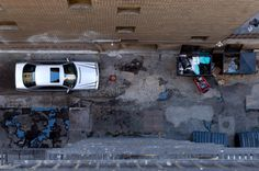 Bird's Eye View Of Alleyway Stock Photos - Image: 14483173