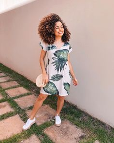 Modest Clothing, Modest Outfits, Skirt Outfits, Casual Dresses, Summer Outfits, Pelo Afro, Pretty Girl Swag, Divas, Urban Outfits