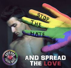 Stop the hate. And spread the love Lgbt Rights, Civil Rights, Human Rights, Lesbian Pride, Lesbian Love, Pride Quotes, Lgbt Quotes, Lgbt Community, Feminism