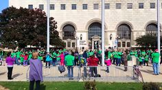 2015 White Cane Safety Day - Flash Mob