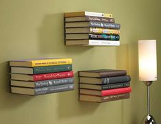 The 'Conceal Book Shelf' Makes One a Reading Magician trendhunter.com
