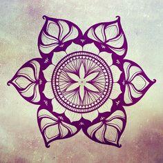 kingstone13:  #Mandala #om #FlorDeLoto