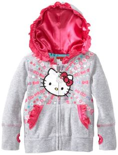 Hello Kitty Girls 2-6X Puff Sleeve Hoodie with Ruffles, Heather Gray, 2T Hello Kitty,http://www.amazon.com/dp/B00F2GMFEG/ref=cm_sw_r_pi_dp_W-pltb0HW8EDY9CM