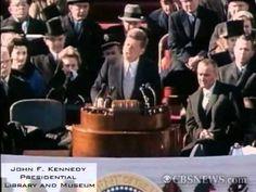 for you Mother. President John F. Kennedy's Inaugural Address - Washington, DC on January 20, 1961 -