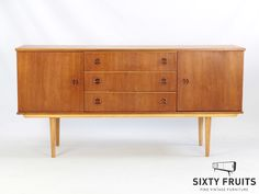 Split Handle 458 #Vintage #Retro #Vintagedressoir #Dressoir #SixtyFruits #70s #Sideboard #Deens #gerestaureerd #opgeknapt #arnhem #ambacht #ontwerp