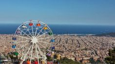 Tibidabo view Fair Grounds, World, Travel, The World, Voyage, Viajes, Traveling, Trips, Tourism