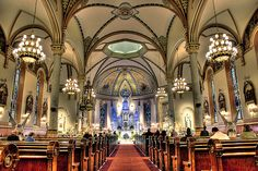 St Stanislaus Catholic Church in Buffalo, NY    (an extra credit amazing place to visit!)
