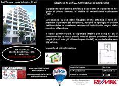 Bari, Viale Salandra 19 e/f Negozio Nuova Costruzione con due ampie vetrine € 1500/mensili info 348 7340665 remax.it/20031050-555