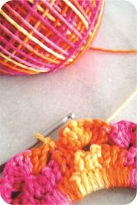 tutorial moldura de crochê