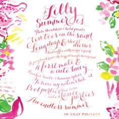 A Lilly Summer is...