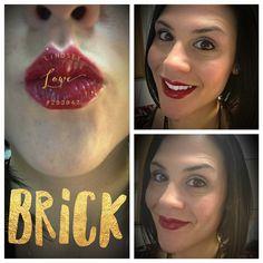 #coloroftheday #brick #lipstick #lipsense #makeup #pretty #fun #funwork #bestjobever #madeinamerica #leadfree #beyourownboss #nongmo #nottestedonanimals #waxfree #askme #idgt #armywife #awesome #selfies #hustle #chaseyourdreams