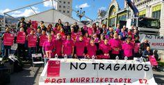 "Una barakaldesa se une a la huelga de hambre contra ""los recortes de la RGI"""