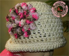 Crocheted Baby Hat Baby Girl Hat Baby Hats by SweetnessInSmyrna, $27.99