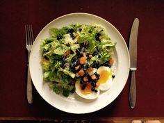 salat Avocado Toast, Breakfast, Food, Morning Coffee, Essen, Meals, Yemek, Eten