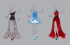 .::Outfit Adopt Set 16 (CLOSED)::. by Scarlett-Knight.deviantart.com on @deviantART