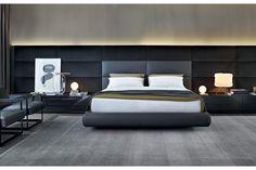 Marcel Wanders for Poliform | Dream Bed by Marcel Wanders for Poliform. | For more inspirations visit: www.bedroomideas.eu | #bedroomdecor #coolbedroomideas #modernbedroomideas