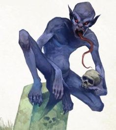 D&D Pathfinder Ghoul