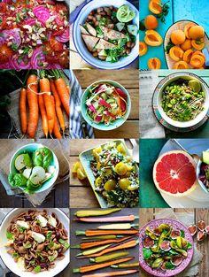 5 farverige salater