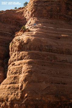 DON'T LOOK DOWN - Mountain Biking on the Edge, White Line, Sedona, Arizona - sspomer - Mountain Biking Videos - Vital MTB