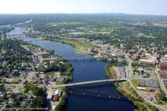Bangor, Maine (used to live here)! :)