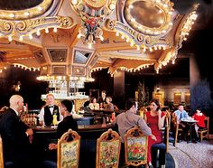 The famous Carousel Bar & Lounge in the Hotel Monteleone is a long-time New Orleans favorite. The French Quarter bar is the city's only revolving bar. New Orleans Hotels, Visit New Orleans, New Orleans Travel, New Orleans Louisiana, New Orleans Bars, Louisiana Usa, New Orleans Casino, New Orleans Nightlife, Places