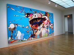 Takashi Murakami - 'Tan Tan Bo Puking' #art #anime #japanese