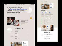 Website Design Layout, Wordpress Website Design, Layout Design, Web Layout, Site Portfolio, Portfolio Ideas, Creer Un Site Web, Web Design Trends, Design Web