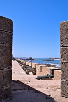 Cannons - Essouira, Morocco