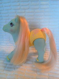 Vintage G1 My Little Pony Sweetsteps Ballerina Posey Rose Y8 89-90 Girls 80s Toy #Hasbro