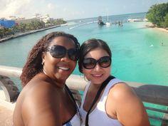 Bárbara é a vida, assim como eu sou Barbara!: Cancun...e o mar do Caribe!