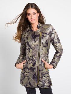MET Women's MARITTAT padded jacket, with camo diamond quilting - Met